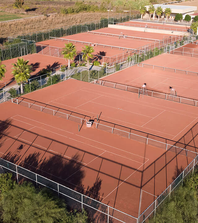Alibey Hotels Resort Tennis Courts-1