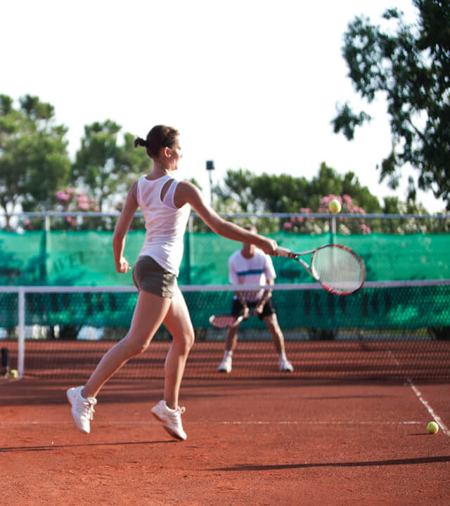Alibey Hotels Resort Tenis Kortları-2