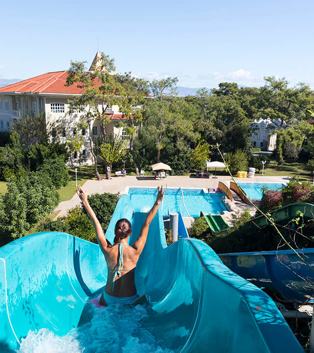 Ali Bey Resort Sorgun Waterpark Slides