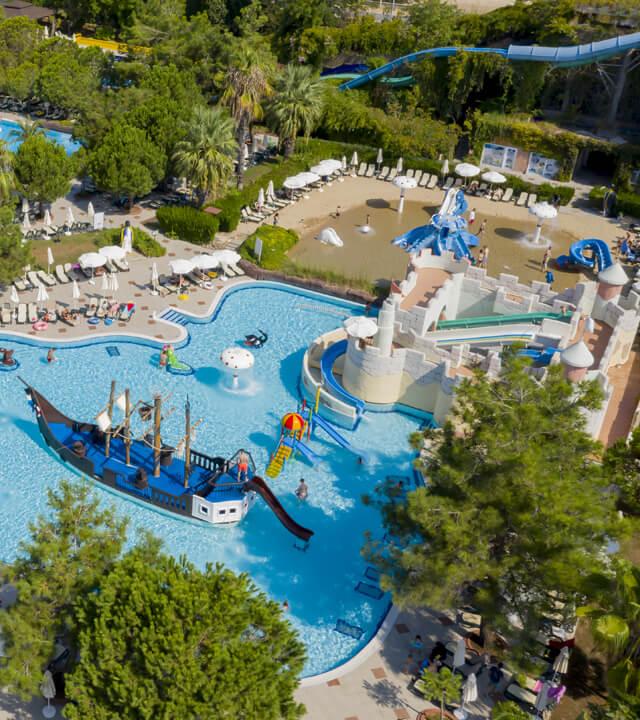 Alibey Hotels Resort Aquapark Waterpark-5