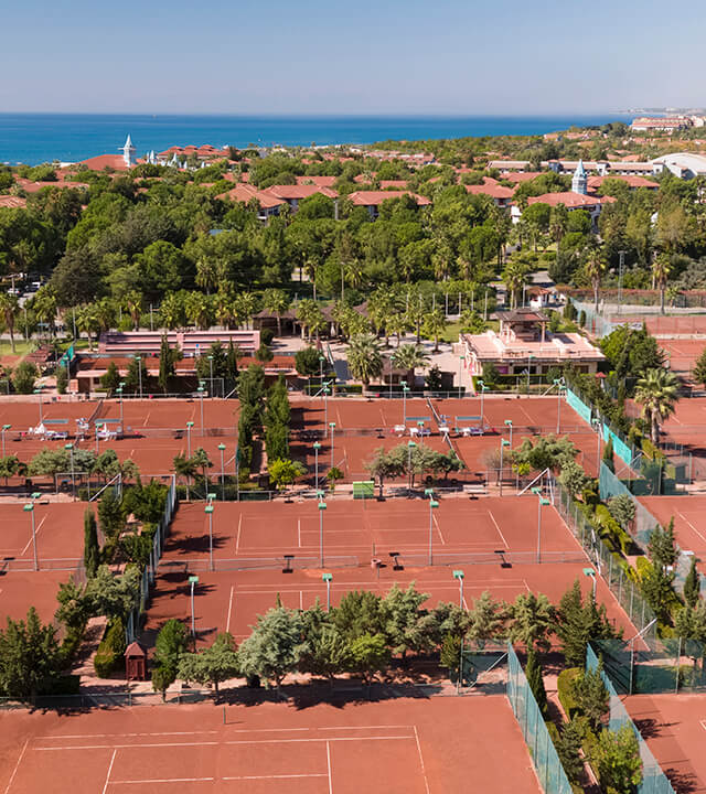 Alibey Hotels Resort Tennis Courts-3