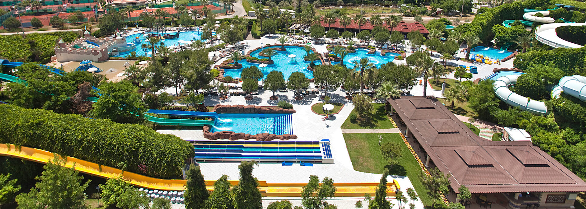 Beach & Waterpark - Ali Bey Park Manavgat - Side, Antalya, Turkey