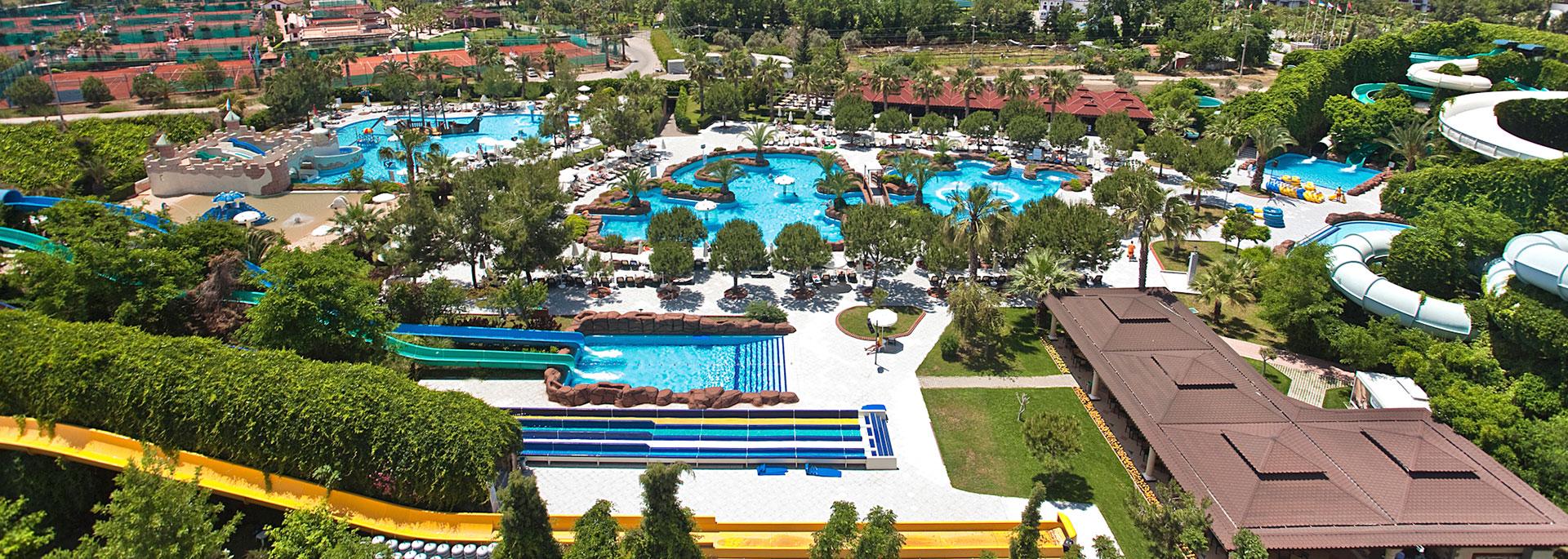 Аквапарк - Ali Bey Club Manavgat - Сиде, Анталии, Турция