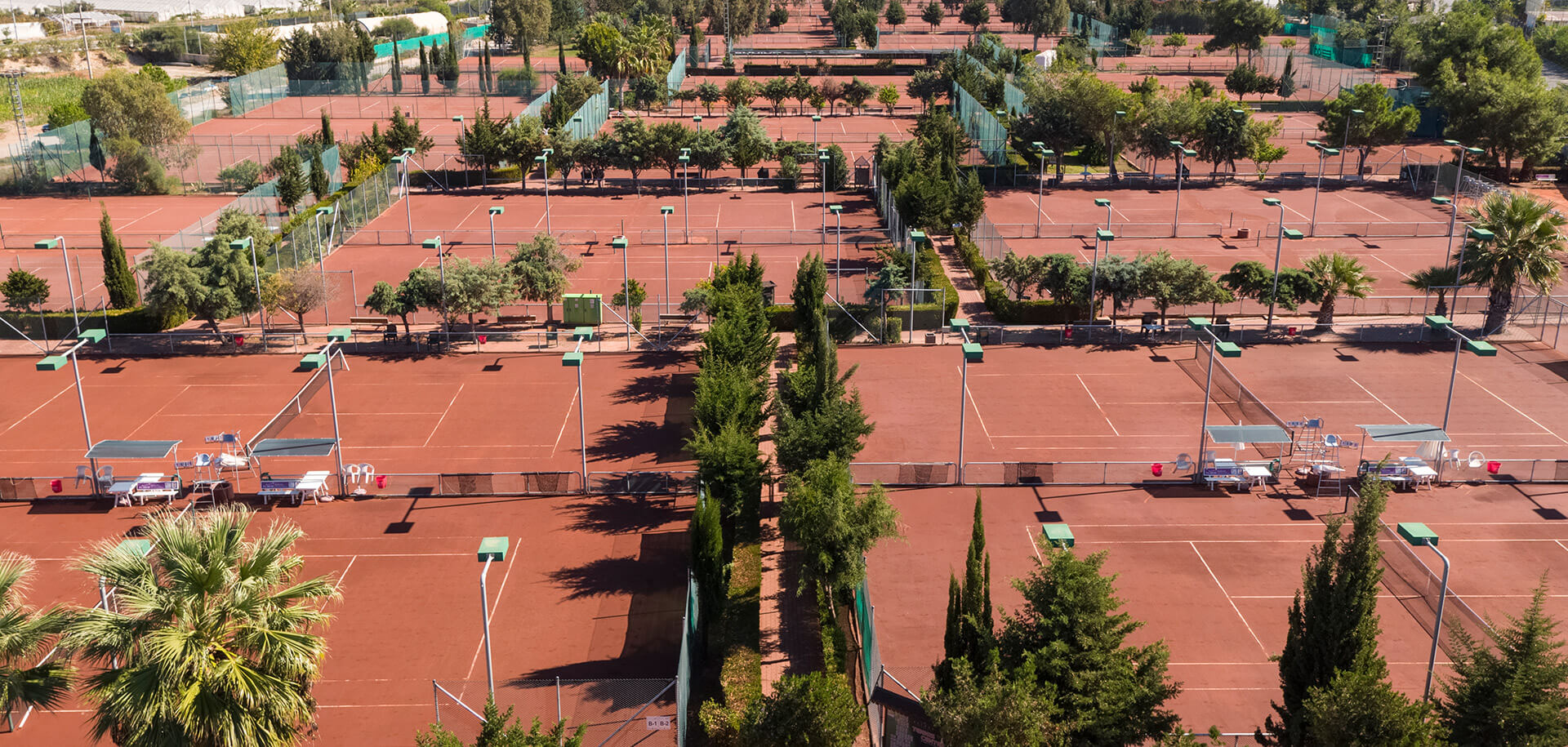 Make the most of your holiday with access to our tennis center which is made up of 61 tennis courts, includes recreational and children's courts, and is host to many national and international tournaments.