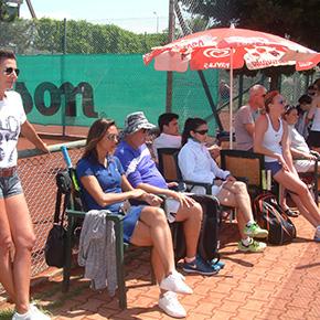 Manavgat'ta Tenis Şöleni Devam Ediyor