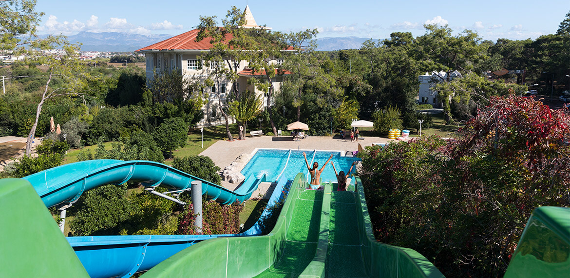 Alibey Resort Sorgun Waterpark Rutschen-3